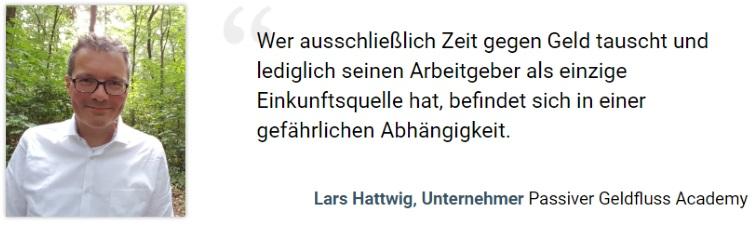 Lars Hattwig Begruessung