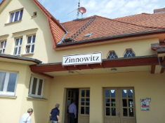 Bahnhof Zinnowitz auf Usedom